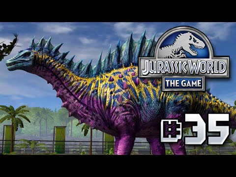Long Neck LEAGUE || Jurassic World - The Game - Ep 35 HD
