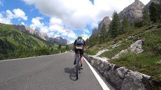 Sella Ronda Part 1 Sellajoch Indoor Cycle Training Workout Ultra HD Video