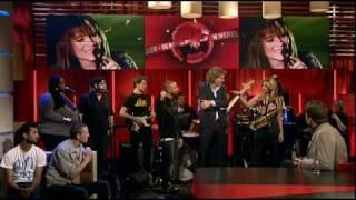 Willem (The Opposites) en Candy Dulfer bij DWDD 04-03-2010 - Money