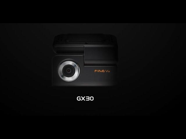 FineVu GX30 Dashcam Introduction