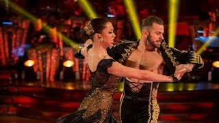 Natalie Gumede and Artem dance the Paso Doble to
