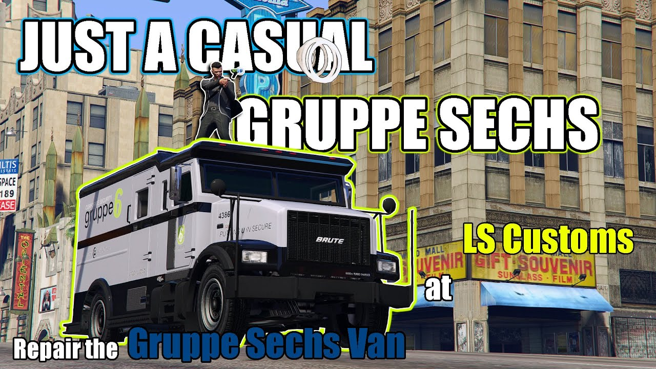 Gruppe Sechs All The Way, With Viewer | GTA Online The Diamond Casino Heist Big Con Gruppe Sechs