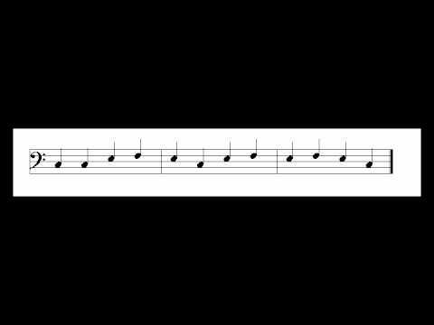 ETEC 512  Music Example w Mnemonics