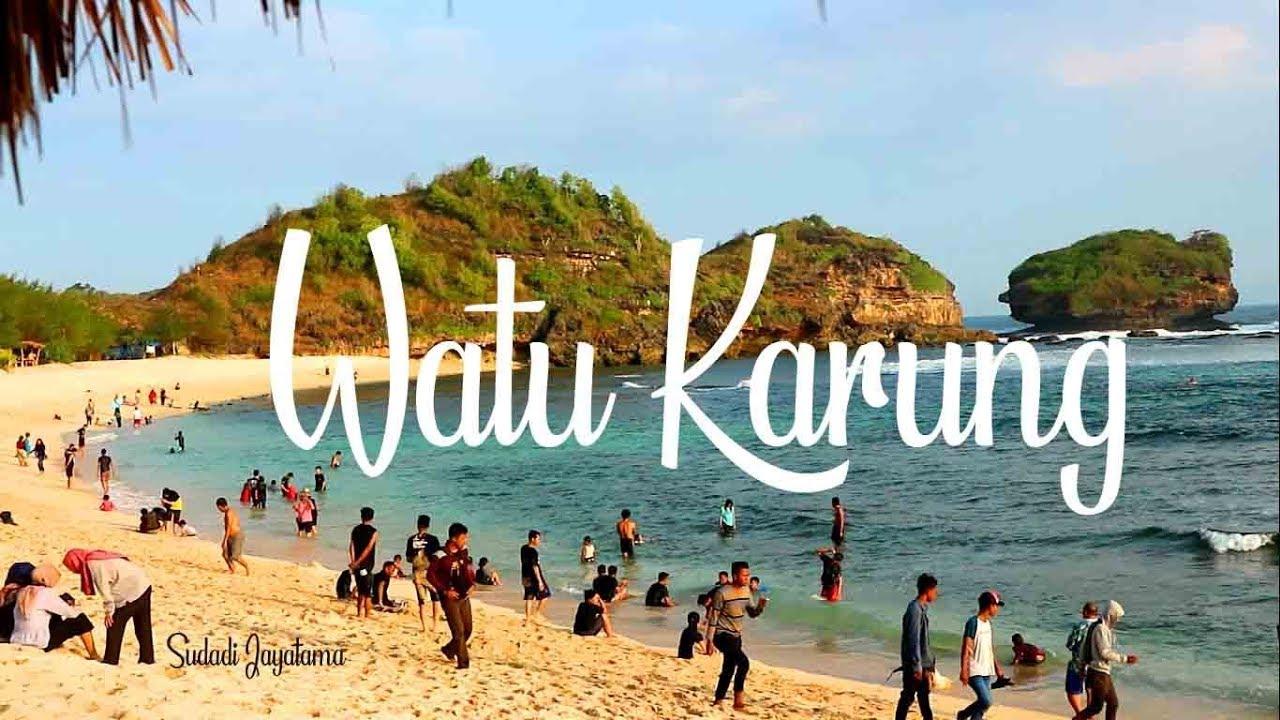 Pantai Watu Karung Pacitan Memiliki Ombak Kelas Dunia Untuk