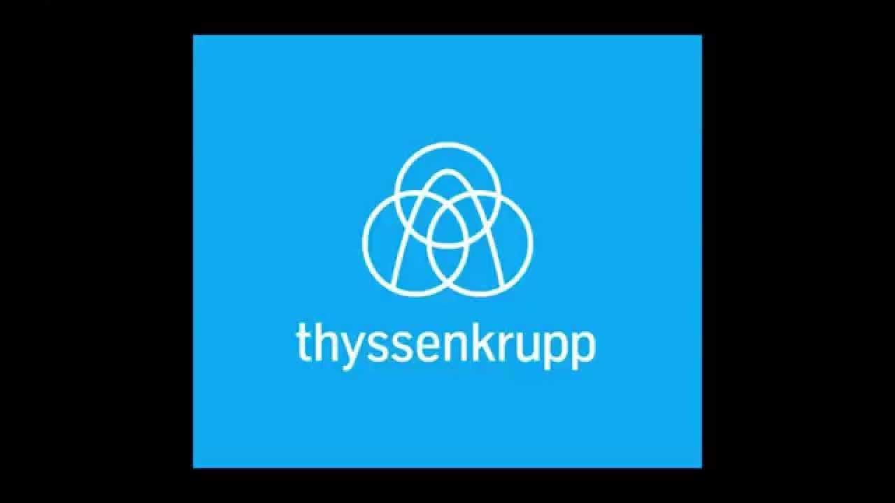 thyssenkrupp introduces new logo youtube. Black Bedroom Furniture Sets. Home Design Ideas