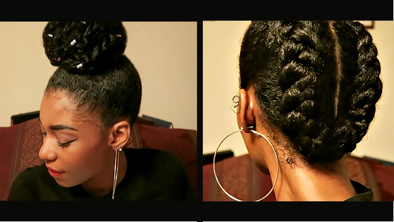 All Natural Hair Styles: 4 PROTECTIVE NATURAL HAIRSTYLES TO RETAIN LENGTH