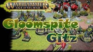 Age of Sigmar - Gloomspite Gitz: Przygotowania - część 1-sza.