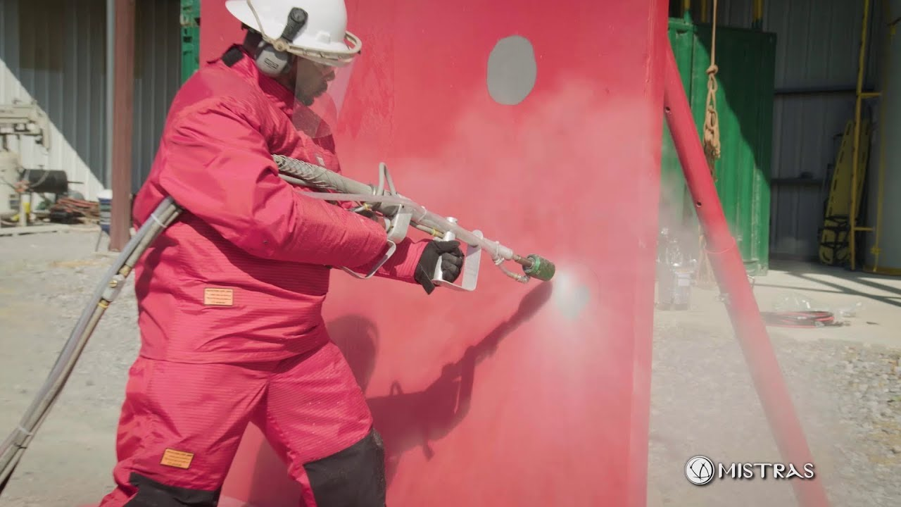MISTRAS Ultra High Pressure (UHP) Water Blasting Services