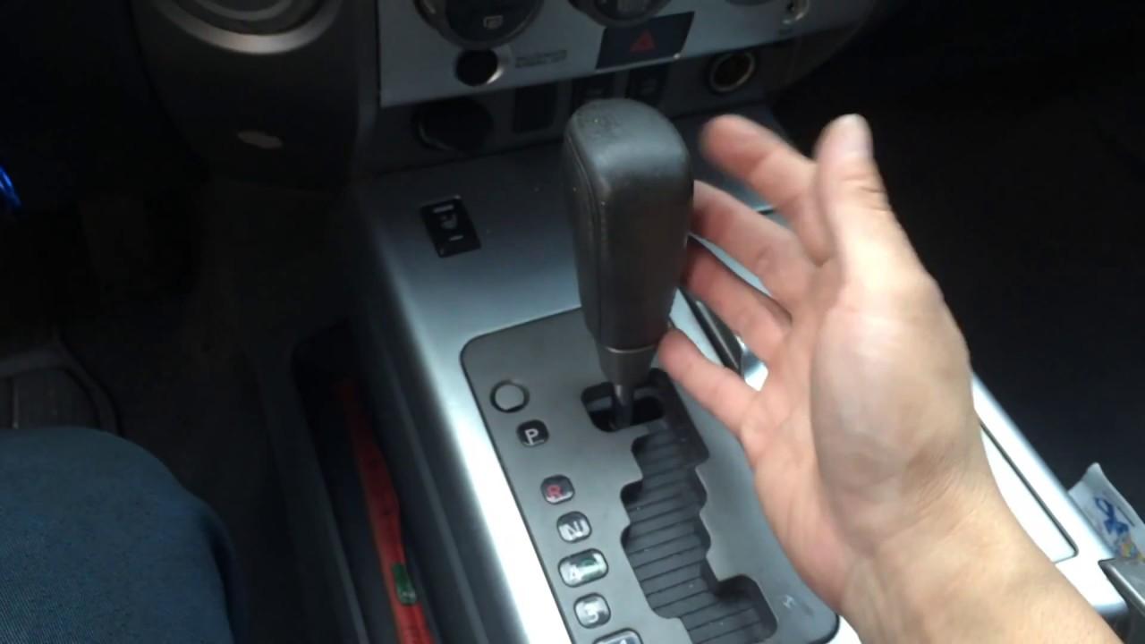 Car Shifter Stuck in Gear Won't Start Quick FIX