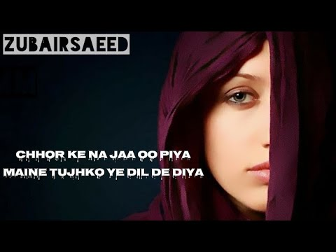 Chhor Ke Na Jaa Oo Piyaa- Alka Yagnik Very Romantic Beautiful Song