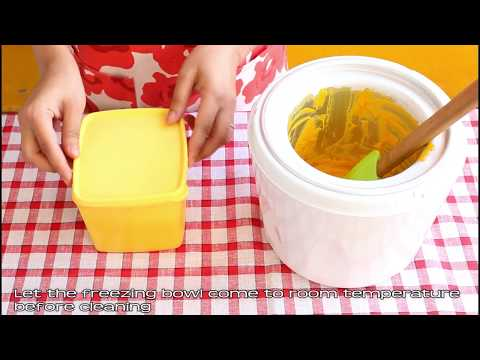 Kitchenif Ice Cream Maker Machine For Home In India With Mango Fruit Sorbet Recipe