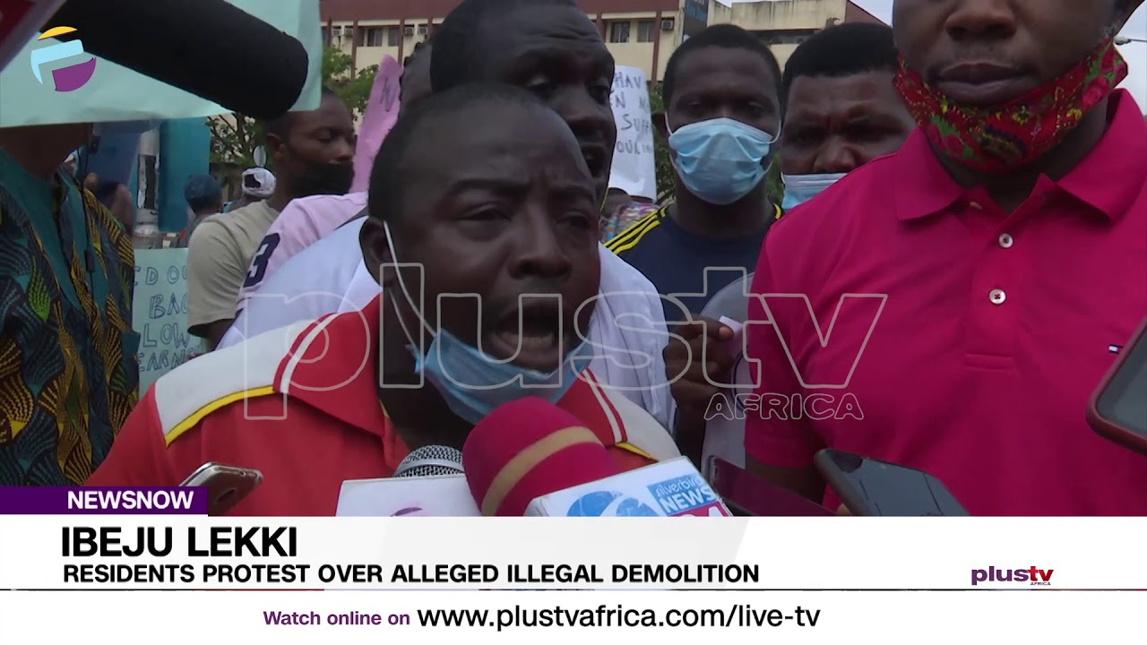 Download Lagos Landlords Protest Against Demolition of 400 Buildings at Ibeju-Lekki   NIGERIA