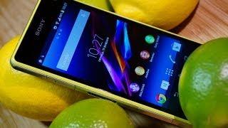 Обзор Sony Xperia Z1 Compact: игры, звук, камера, интерфейс(Подробный обзор - http://mobiltelefon.ru/post_1392814800.html Цена дня на Sony Xperia Z1 Compact - http://bit.ly/1Asukm3 Видеообзор Sony Xperia Z1 ..., 2014-02-19T13:32:38.000Z)