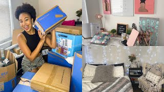 Walmart Gifted Me $1000 For Back to College | Haul & Room Transformation