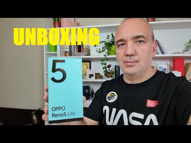 Oppo Reno5 Lite unboxing și păreri la prima vedere