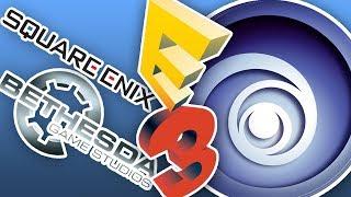 E3 2018 mit Westersburg: Bethesda, Square Enix & Ubisoft (WW2 Beta, For Honor Beta & WaW Gameplay)
