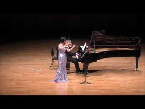 Ju-Young Baek & Ralf Gothoni - Paganini 'I Palpiti,' Introduction & Variation 'Di Tanti Palpiti'