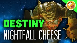 Destiny Nightfall Cheese - The Dream Team (Rise of Iron: Wretched Eye)