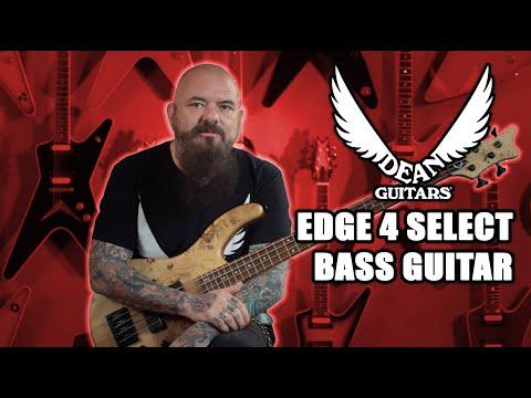 Dean Guitars E4 Select Burled Poplar Bass