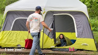 3 Kids, 3rd Trimester Pregnant, & CAMPING!
