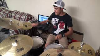 �������� ���� Kick Me - Sleeping With Sirens - Drum Cover ������