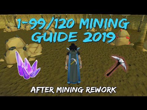 1-99/120 Mining Guide 2019/2020 | After Mining Rework [Runescape 3]