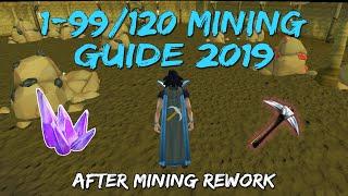 1-99/120 Mining Guide 2019/2020   After Mining Rework [Runescape 3]