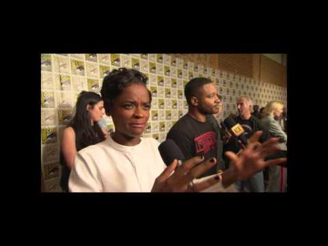 Letitia Wright Interview On Black Panther Trailer and San Diego Comic Con Hall H Reaction #SDCC