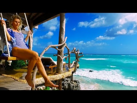 TOP TREEHOUSE TOUR - $2000 A NIGHT STAY - TULUM MEXICO - TRAVEL