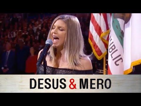 Fergie's NBA AllStar National Anthem