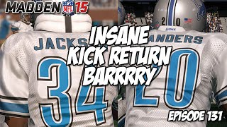 Madden 15 Ultimate Team | CAN YOU SAY BARRRRRY | Episode 131