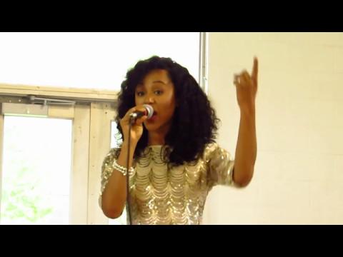 Joy Christian singing