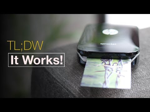 Download Youtube: HP Sprocket: A Pocket Smartphone Printer That Actually Works