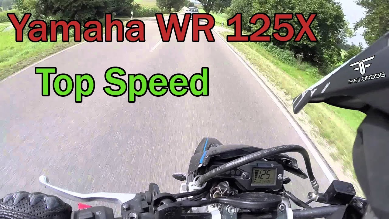 Yamaha Wr  R Top Speed