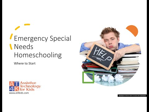 Emergency Special Needs Homeschooling Day 2