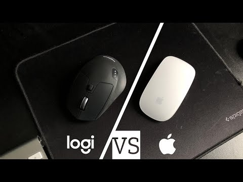 Logitech Vs Apple Mouse
