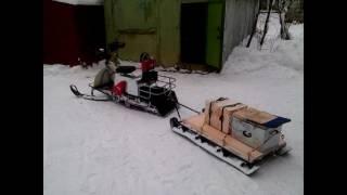 Сани для снегохода, мотобуксировщика из ПНД трубы своими руками…