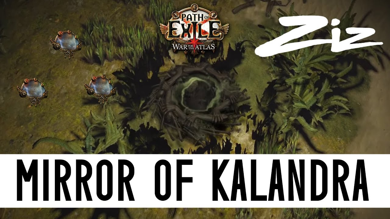 Path of exile mirror of kalandra drop in abyss zizaran for Mirror of kalandra