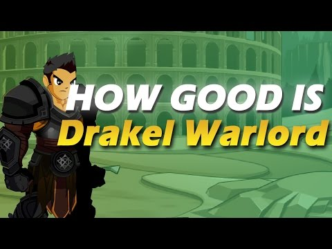 How Good Is DRAKEL WARLORD? (AQW Class Review, Guide and Enhancements)