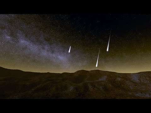 Perseid meteor shower in 2015