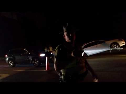 Repeat DUI checkpoint with Krilly by Kawasaki Kryptonite