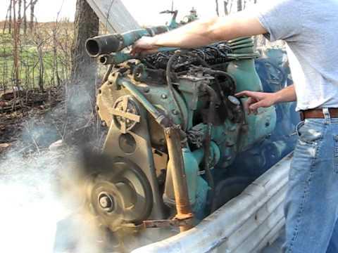 671 detroit Diesel Start up