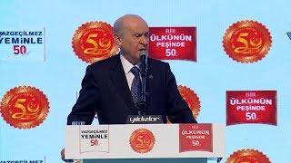 Milliyetçi Hareket Partisi'nin Kuruluşunun 50. Yıldönümü Kutlama Programı