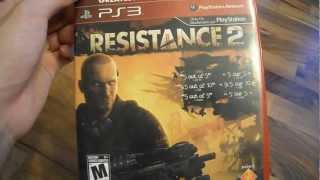 Review Resistance 2 Sony playstation PS3 PS 3 Insomniac games PSN