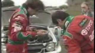 Gambar cover Carlos Sainz uses a Tree to stay in Rally: WRC Corsica 1998
