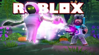 HUNTING FOR GHOSTS IN ROBLOX!!