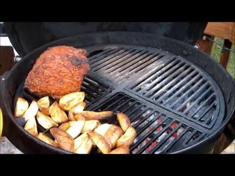 Grilled Beef Rump Roast - BBQ Pit Beef