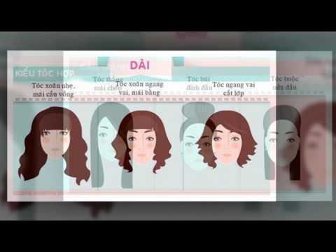 Kiểu Tóc Nữ Đẹp 2017:  Mẹo Chọn Tóc Phù Hợp Với Từng Khuông Mặt