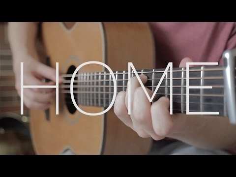 Home - Michael Bublé - Fingerstyle Guitar Cover by James Bartholomew