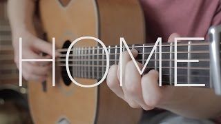 Home - Michael Bublé - Fingerstyle Guitar Cover - Free Tab